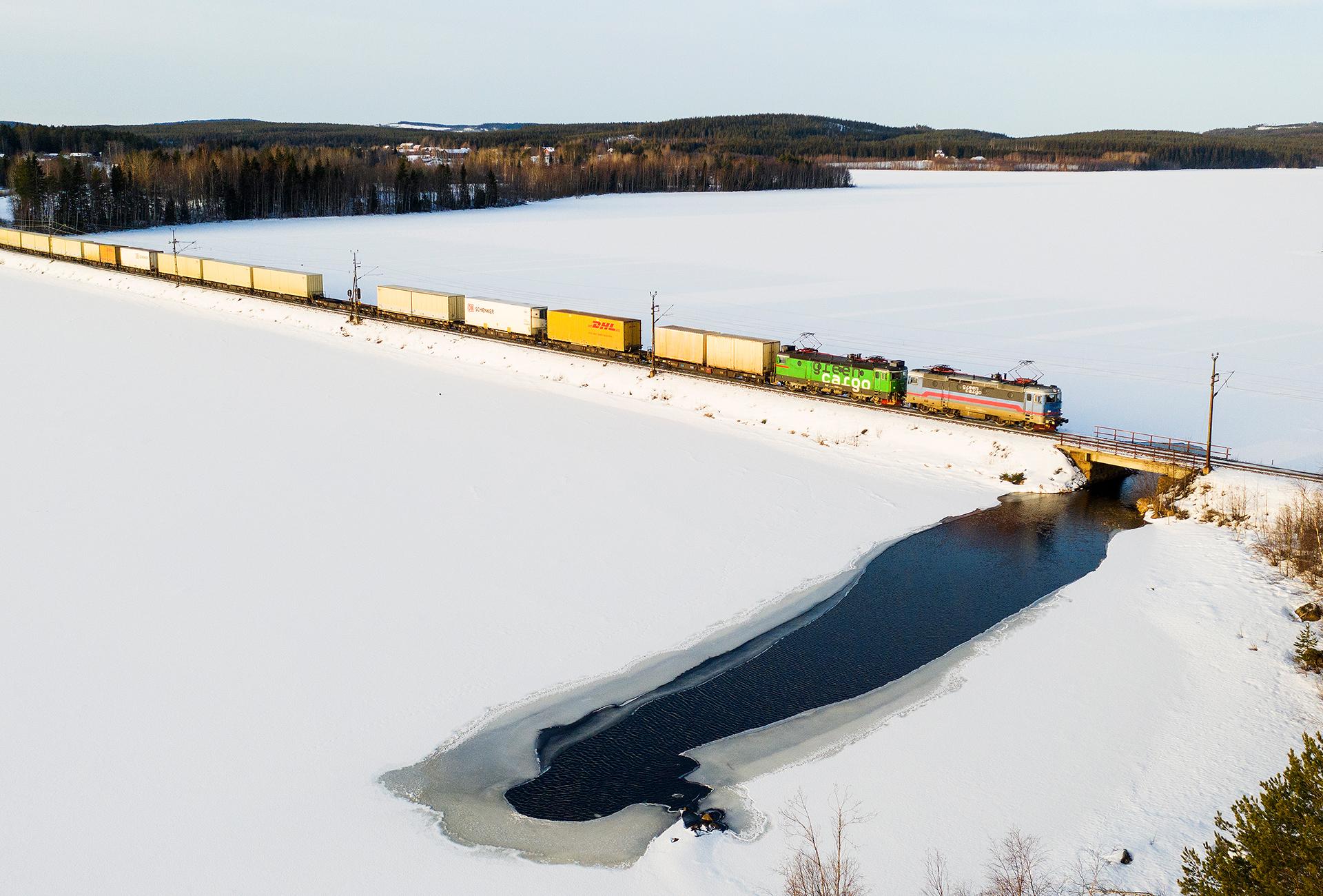 Statsbidrag hjälper Green Cargo