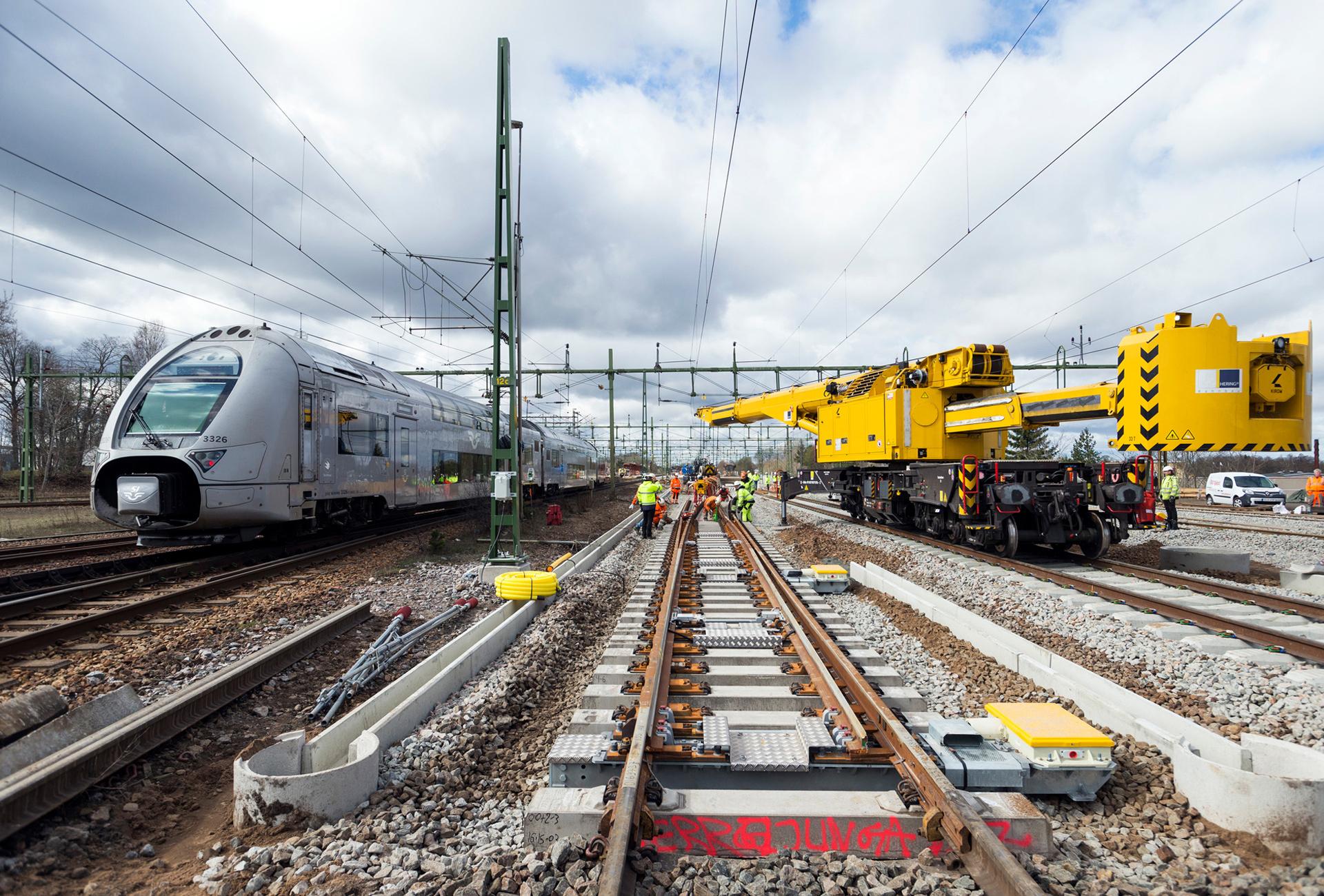Plats för fler tåg på stambanan