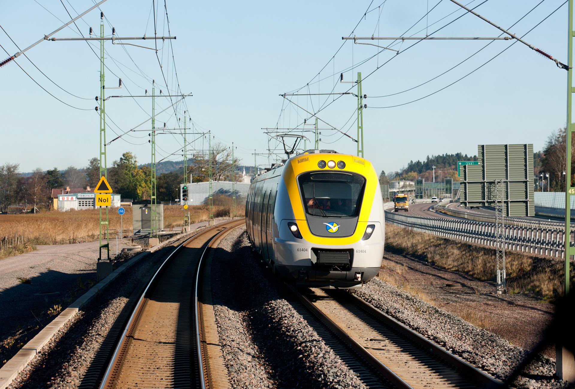 Tre procent fler på Västtrafiks tåg