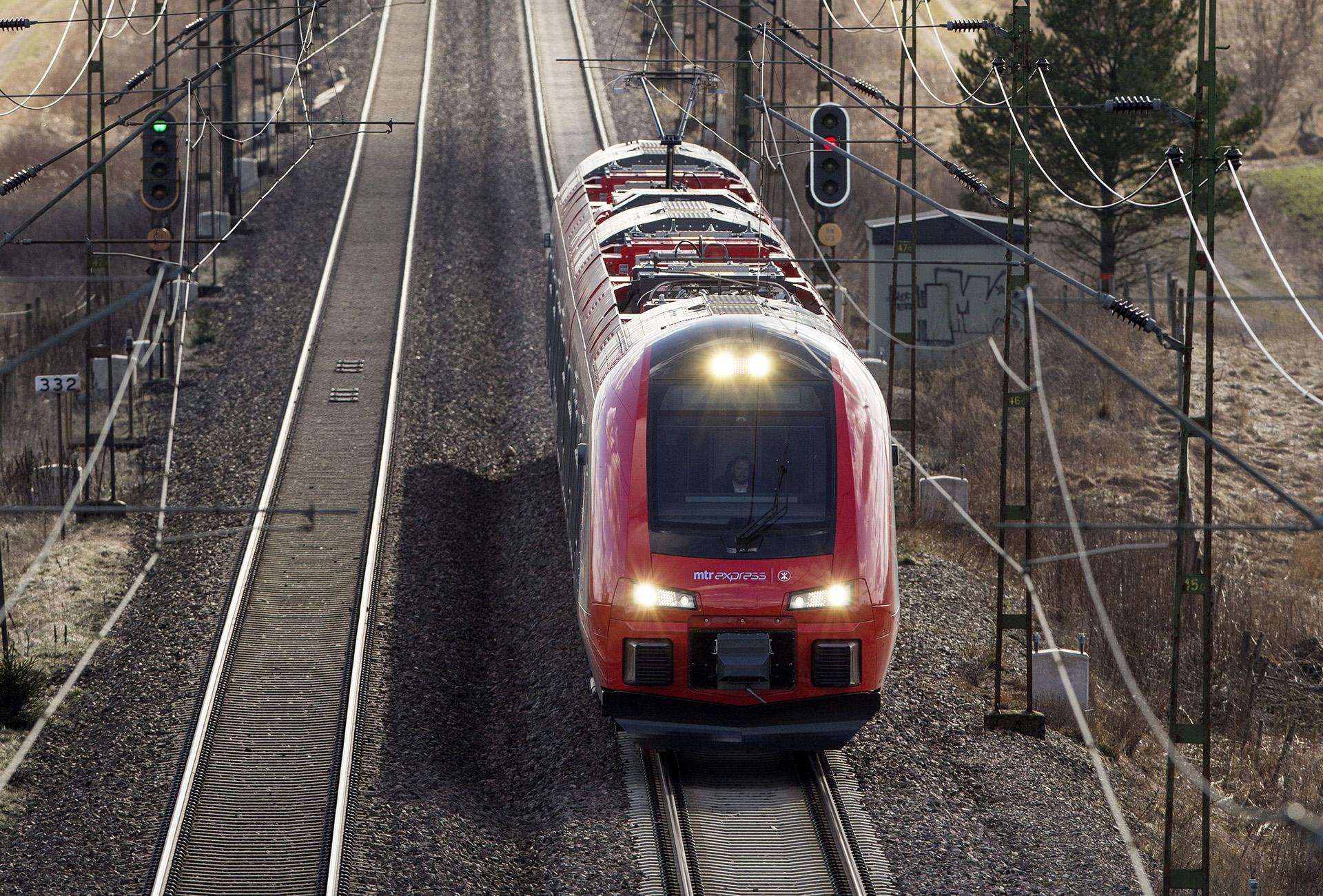 Svag ökning av tågresandet