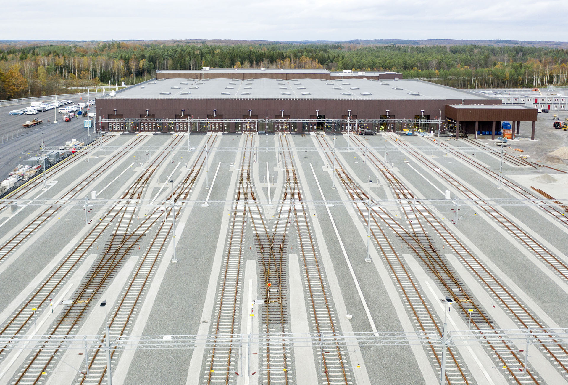 Ny tågdepå i Hässleholm