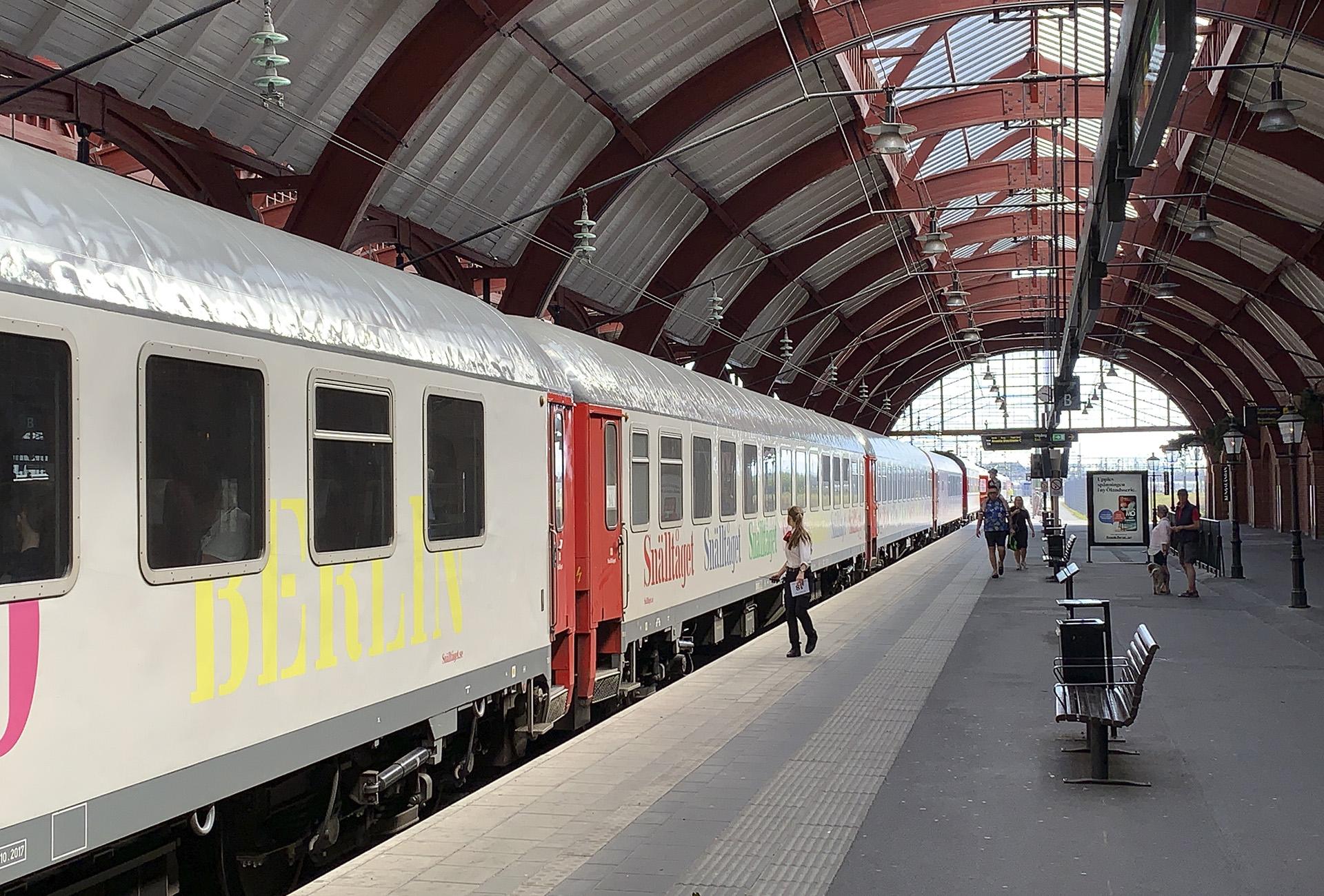 Nattåg Stockholm-Berlin 2021