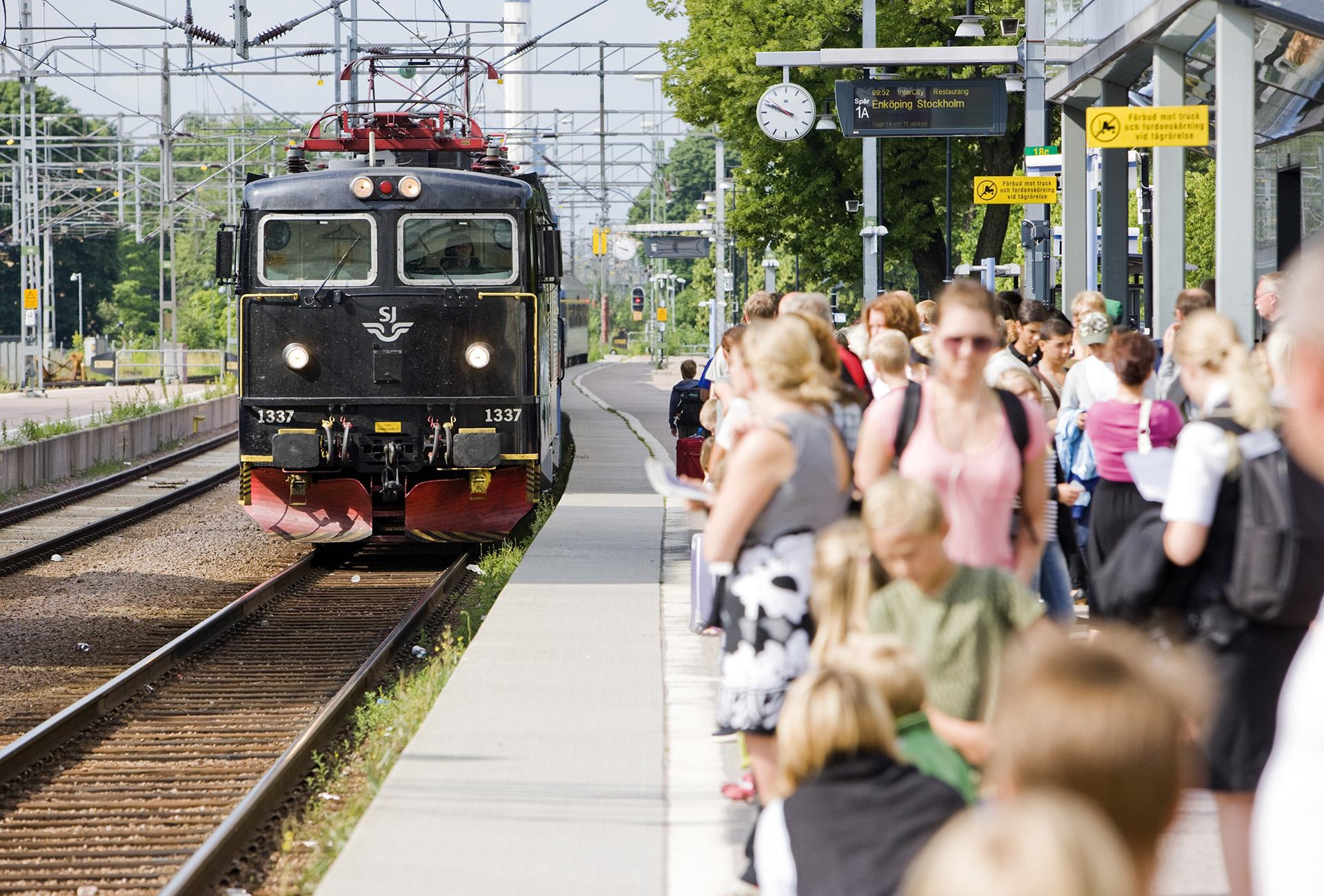 Oro för trängsel i sommartrafiken